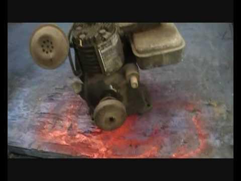 1HP Clinton antique engine