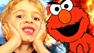 evil elmo trolls angry players on black ops 2 voice trolling