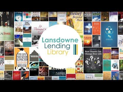 Visit the Lansdowne Lending Library