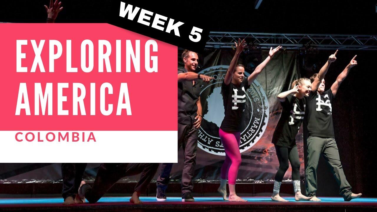 Chloe Bruce tours America   Colombia   My VLOG week 5