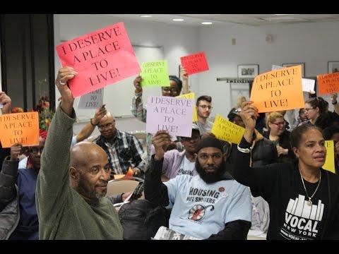 Bronx Community Town Hall on Homelessness