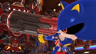 Sonic Generations: Episode Metal - Egg Dragoon Boss Battle (1080p/60fps)