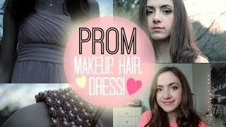 My Prom Style: Makeup, Hair, + Dress!