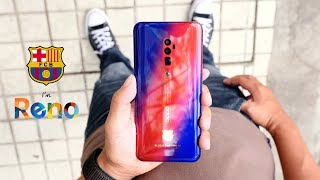 ត្រួសៗពី OPPO Reno 10X Zoom FC Barcelona Limited Edition!