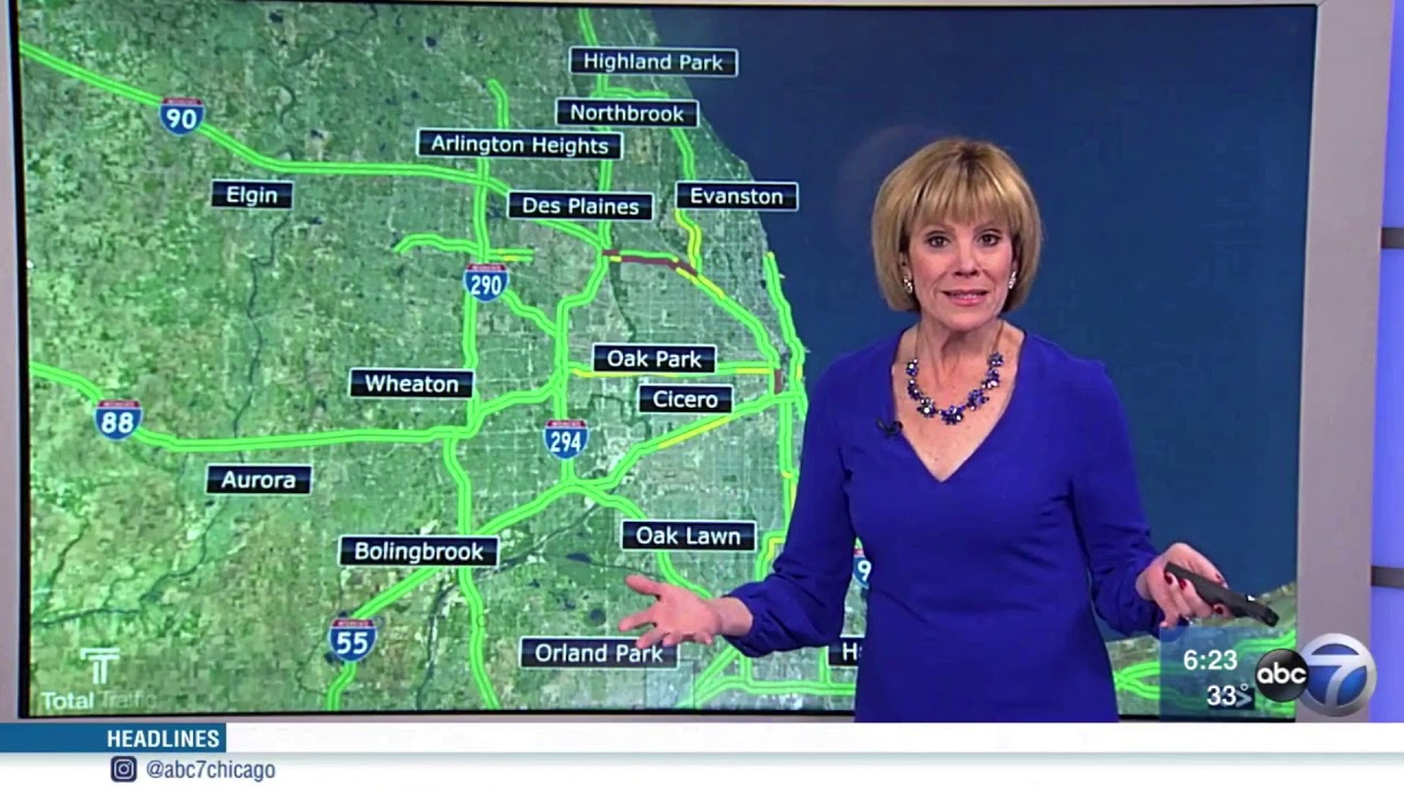 ABC 7 Eyewitness News New Traffic Maps   YouTube