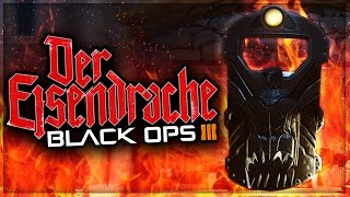 """Black Ops 3 ALL """"Der Eisendrache"""" Zombie Shield Part Locations 