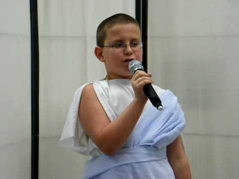 My Greek Poetry Recital Part 1