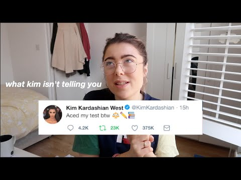 Lawyer reacts to Kim Kardashian studying law.