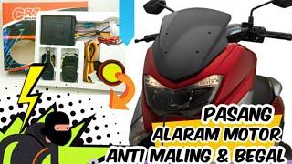 Alat Pengaman Motor Anti Maling Dan Begal || Alarm Security Motor|| Yamaha NMax - Cari Aman Boss!!