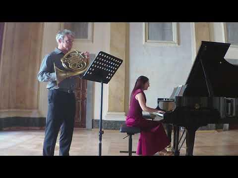 Gliere - Intermezzo. Jacek Muzyk - horn, Justyna Danczowska - piano