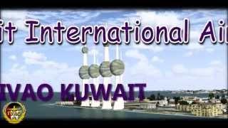 【FSX HD】 IVAO kuwait international airport  【IVAO KUWAIT】
