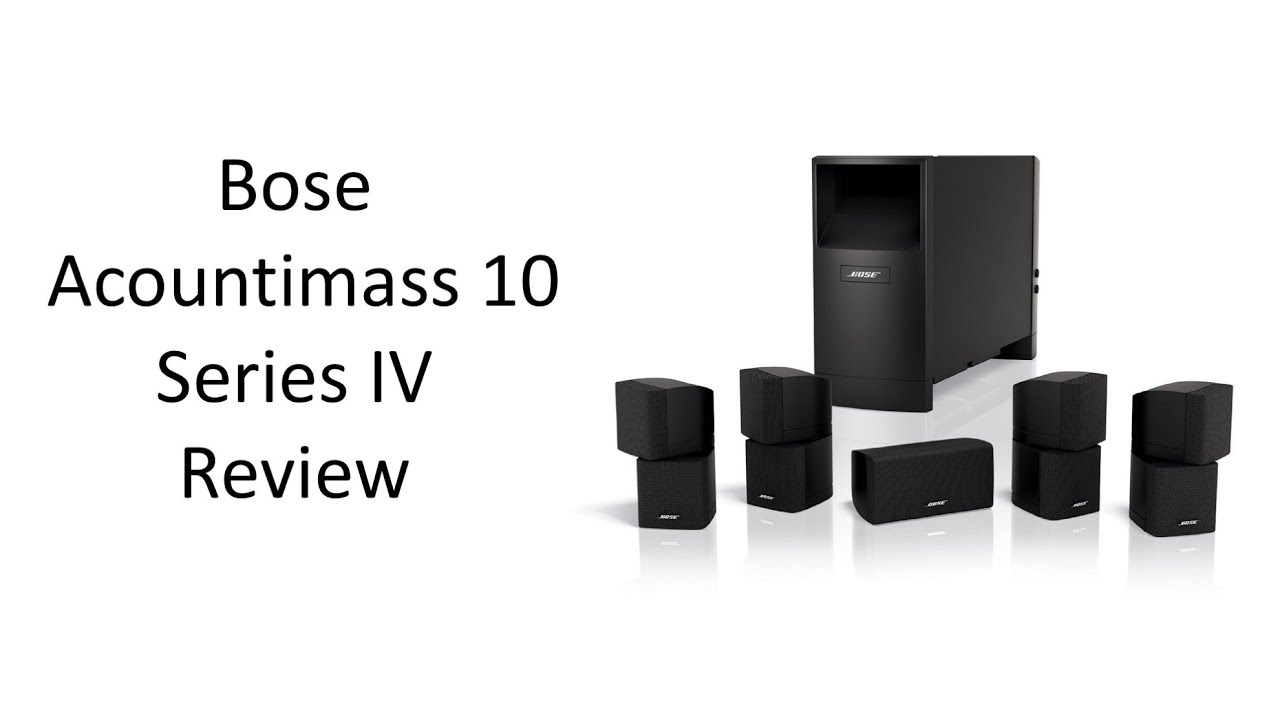 bose acoutimass 10 series iv home theater speaker system review rh youtube com bose acoustimass 10 series iv service manual Bose Acoustimass 10 Series IV