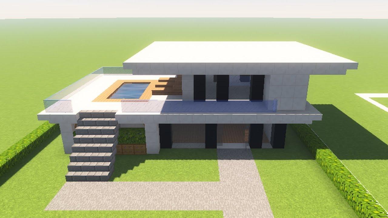Схема постройки дома в майнкрафт в картинках хай тек