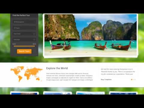 Midway – Responsive Travel WP Theme Download