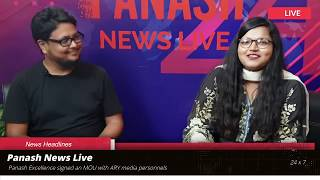 Live With Panash ~ Mustansir Hussain
