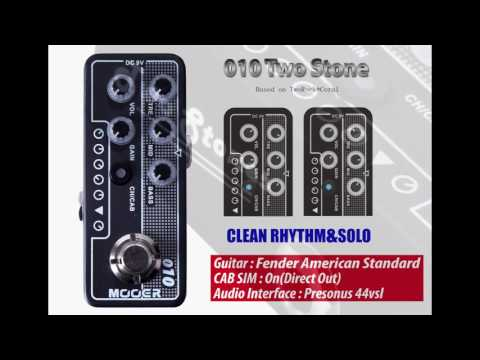 MOOER Micro Preamp 010(Two Stone)