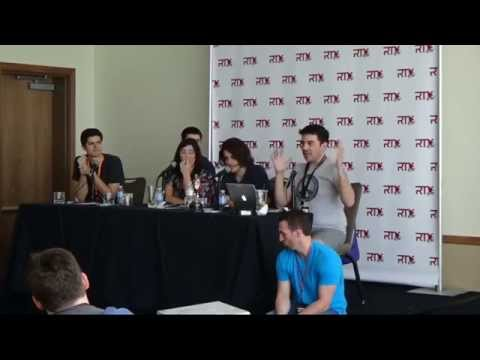 Rooster Teeth RTX 2015 RT Broadcast Panel