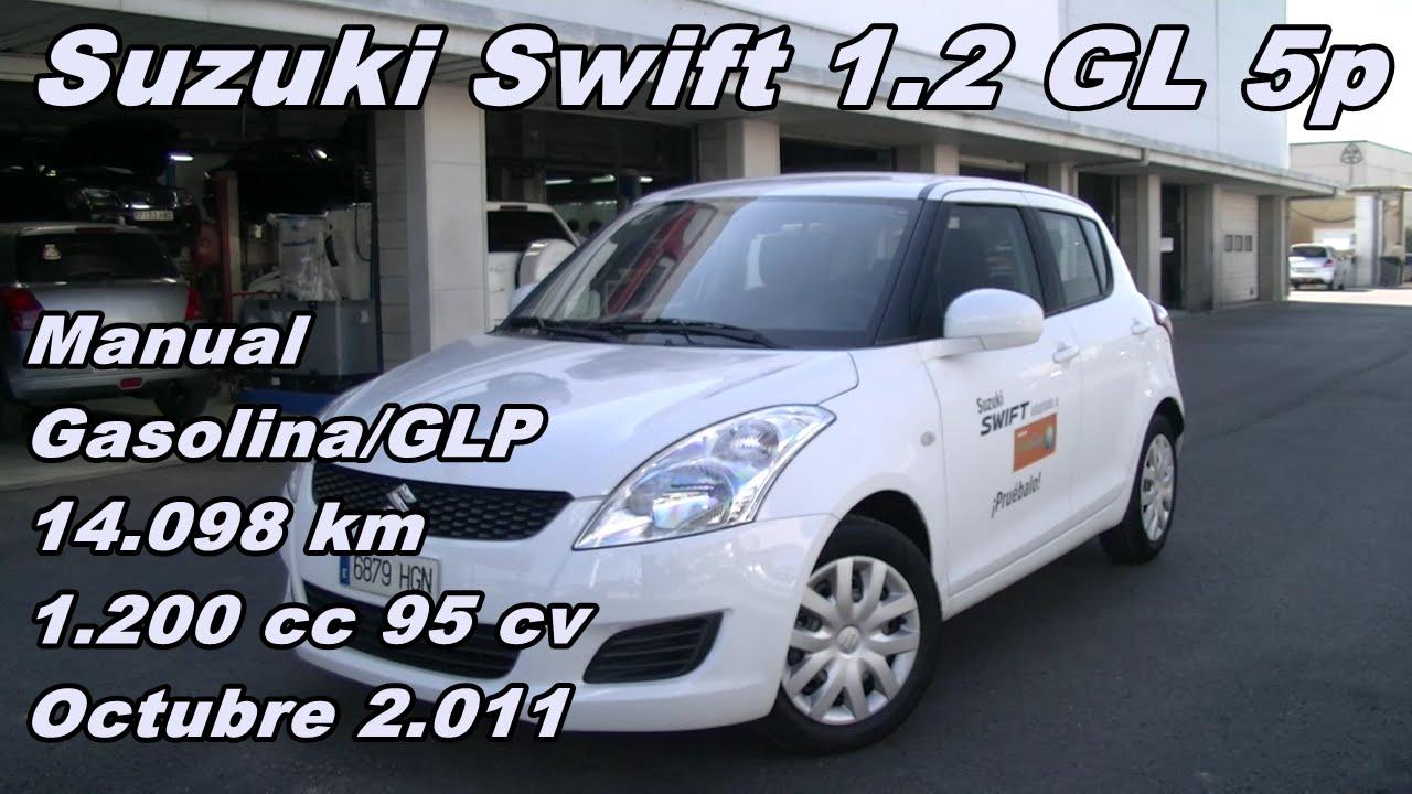 suzuki swift 1 2 gl 2 011 manual gasolina glp 14 098km suzuki rh youtube com Ford Workshop Manuals Store Workshop Manual