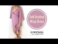 SEW & TELL | Nude Wrap Dress | Girl With the Afro