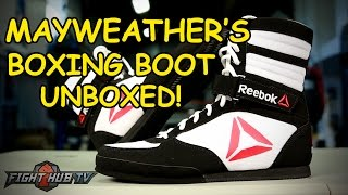 Floyd Mayweather's Boxing Shoes Unboxed! - Fight Hub Unboxing