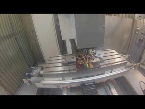 DIY CNC drilling copper