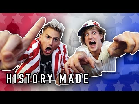 Logan Paul and I made history today...OUR ONE YEAR ANNIVERSARY!