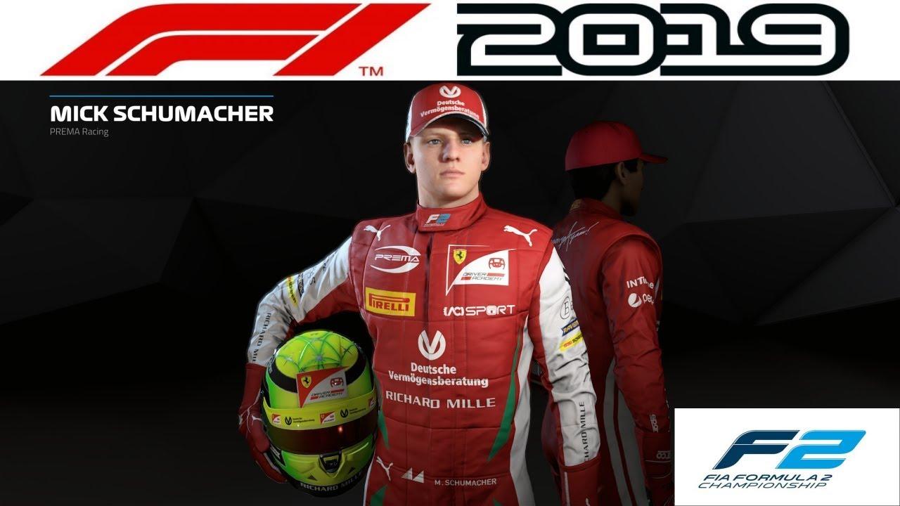 F2 Meisterschaft als Mick Schumacher! | F1 2019 PC ...