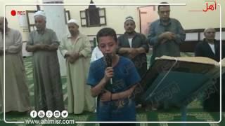 بالفيديووالصور..'أحمد' أصغر مؤذن وإمام مسجد في مصر