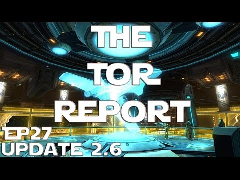 SWTOR Player Housing - The TOR Report - EP27 (03/08/14)