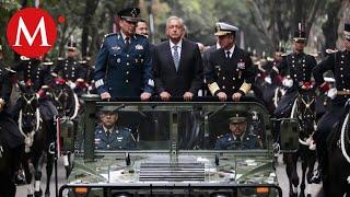 Fuerzas Armadas reiteran lealtad al Presidente AMLO