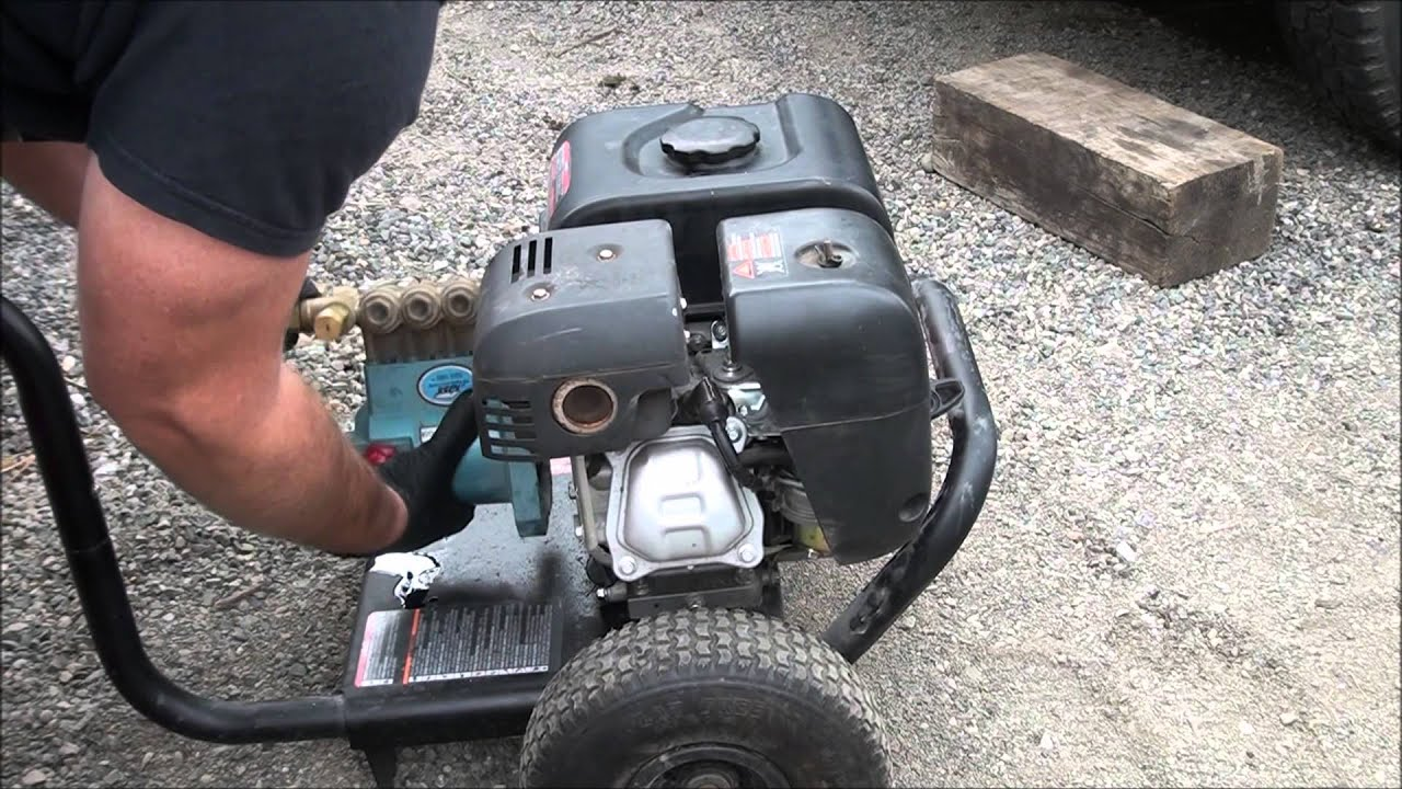 Pressure Washer Water Pump Removal How To Repair A Phase Problems And Remove The