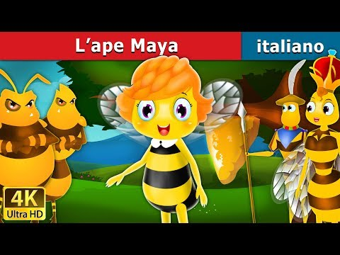 L'ape Maya   Storie Per Bambini   Fiabe Italiane