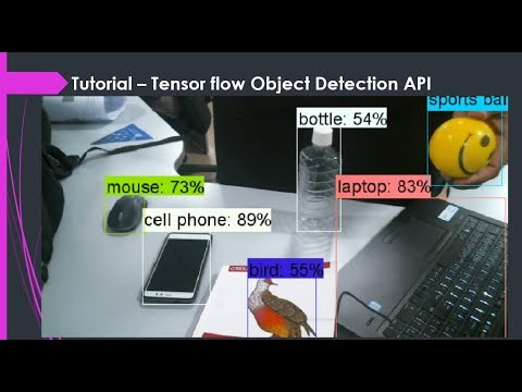 A tutorial on implementing tensor flow object detection API with Webcam