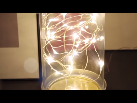 DIY Fairy Lamp | LED String Lights