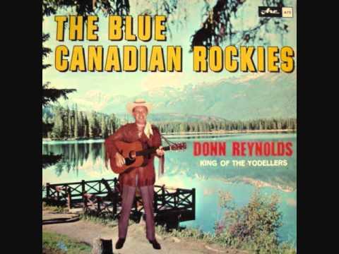 Donn Reynolds King of the Yodellers Blue Canadian Rockies complete LP jodeling
