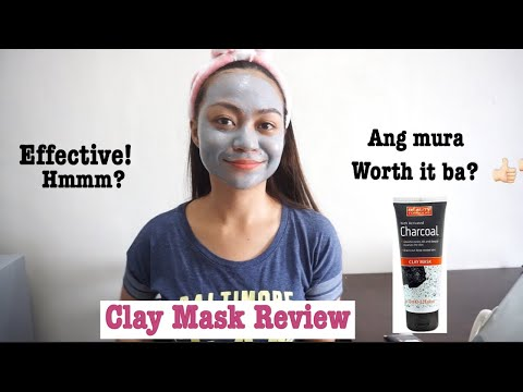 BEAUTY FORMULAS ACTIVATED CHARCOAL CLAY MASK REVIEW! | Christine Diaz