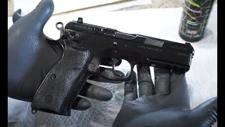 How to clean the CZ 75 SP01 Tactical, SP01, CZ75 SP01