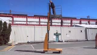Bil Jax Man lift - 2 -  Equip Seller Industrial Auctions