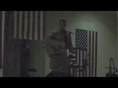 Camp Fallujah talent show
