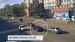 Скандально известный синий BMW разбился в ДТП