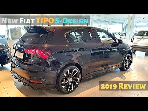 New Fiat TIPO S-Design 2019 Review Interior Exterior