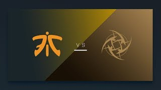 CS:GO - fnatic vs. NiP [Cbble] Map 1 - EU Matchday 3 - ESL Pro League Season 7