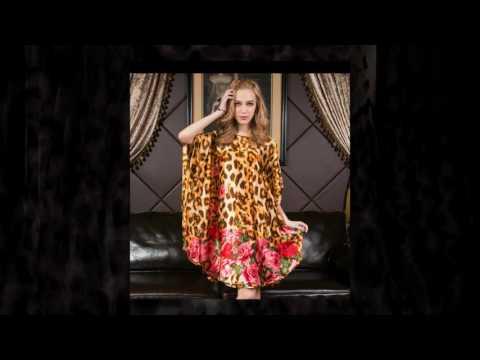 sexy evening silk dress part 1