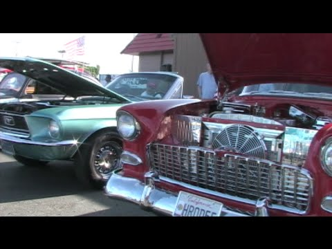 Free Classic Car Shows Every Week During The Summer In Modesto, California