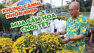 Đánh xe từ Saigon xuống làng hoa Sa Đéc mua hoa cho rẻ ???