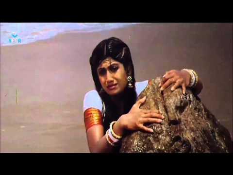 Sahasa Veerudu Sagara Kanya Movie - Emotional Scene - Shilpa Shetty,Venkatesh