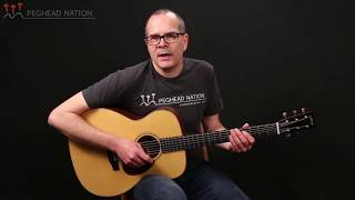 Collings OM1A Julian Lage Demo from Peghead Nation