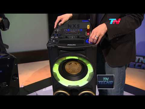 TN Tecno 255-2 Equipos de audio Sony V5 y Philips Nitro NX5