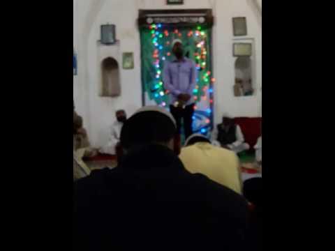Live naat by ZUBAIR ANSARI . Unki jame jam ankhe shisha-e-Badan mera....