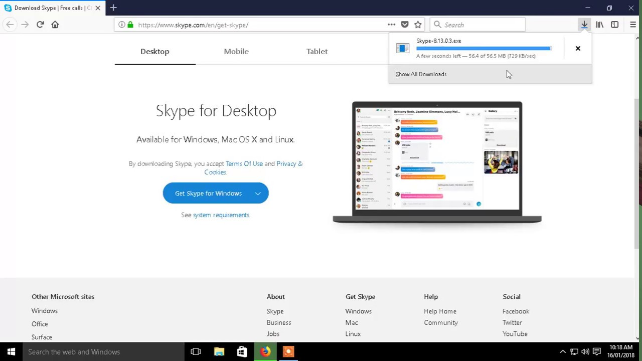 skype software free download for pc